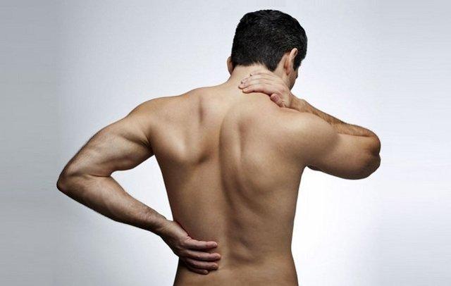 замечательная сильная боль в левой части спины то