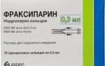 Фраксипарин. инструкция по применению, цена, отзывы, аналоги