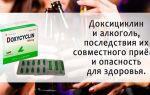 Доксициклин и алкоголь: полная инструкция по применению, совместимость препарата