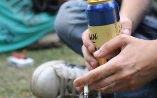 Распитие спиртных напитков в общественных местах — административная ответственность, штрафа за распитие