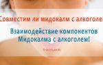 Препарат «Мидокалм» и алкоголь: последствия употребления, аналоги и отзывы врачей