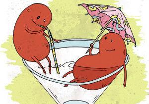Болят почки после алкоголя — Симптомы и методы лечения почек, советы врачей