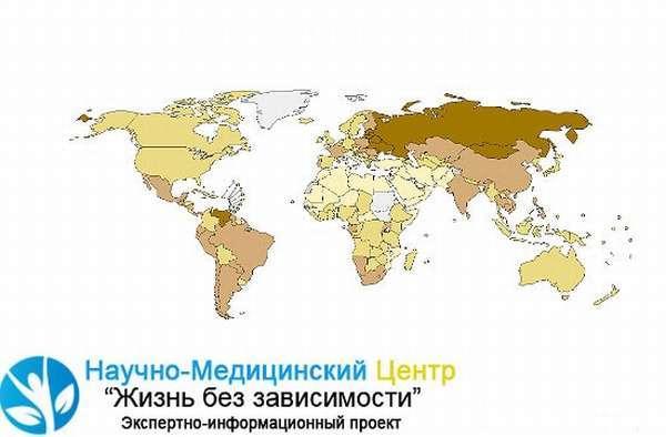 Смертность от алкоголя в России статистика за 2018 год. Причини деградации населения