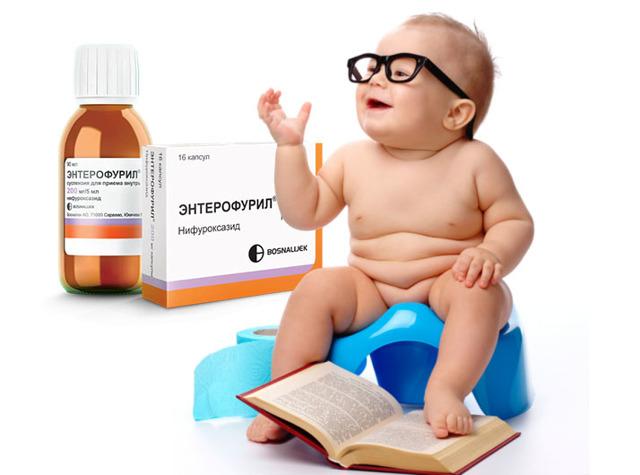 Энтерофурил. Инструкция по применению для детей при поносе, рвоте, ротавирусе, отравлении, дизентерии, дисбактериозе. От чего помогает суспензия, капсулы, показания. Цена, аналоги, отзывы