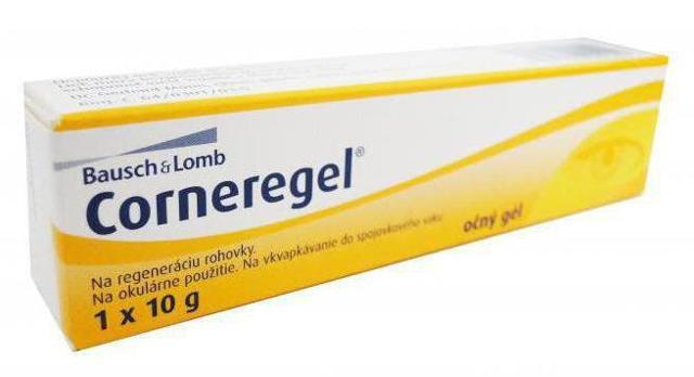 Корнерегель (Корнегель) для глаз. Инструкция по применению, цена, аналоги, отзывы